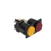 BIPOLAR SWITCH AND LAMP 16A 250V